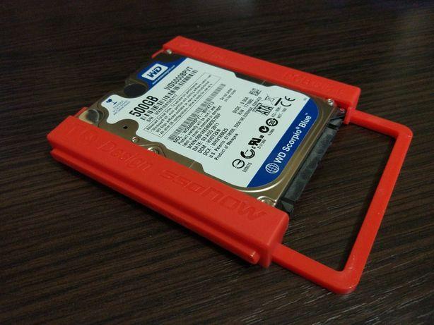 """Переходник-крепление 2.5"""" для SSD и жёстких дисков"""