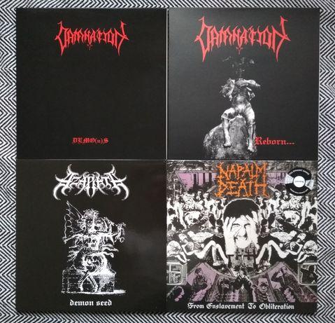 Napalm Death, Azarath, Damnation LP płyty winylowe