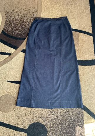 Długa spódnica jeansowa rozm.38 Vunic
