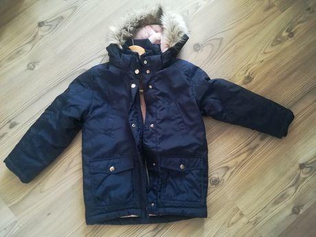 Nowa kurtka zimowa h&m r.122  /płaszczyk parka