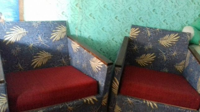 советский диван и кресла