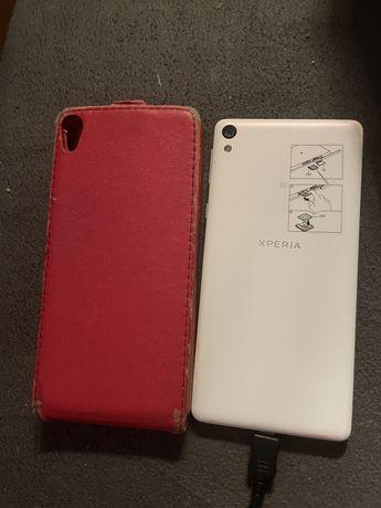 Sony Xperia E5 telefon swietny stan obudowa smartfon