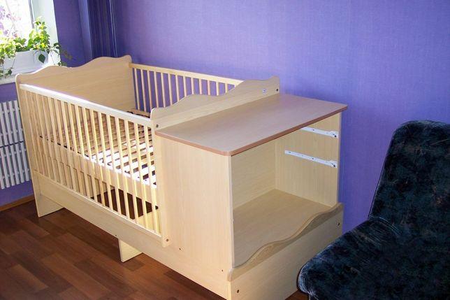 Детская кровать трансформер детская кроватка пеленальный стол