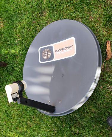 Antena satelitarna Cyfrowy Polsat + konwerter