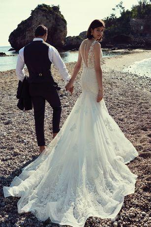 Suknia ślubna Justin Alexander rybka