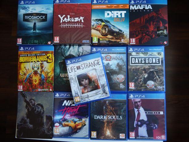 GRY PS4 Life Is Strange INNE Dirt Bioshock Mafia Until Dawn Last Of Us