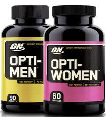 Витамины Optimum Nutrition Opti Women Opti Man One a Day