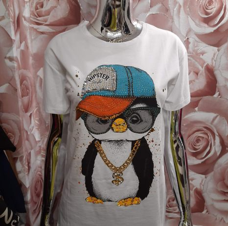 Bluzka z pingwinem