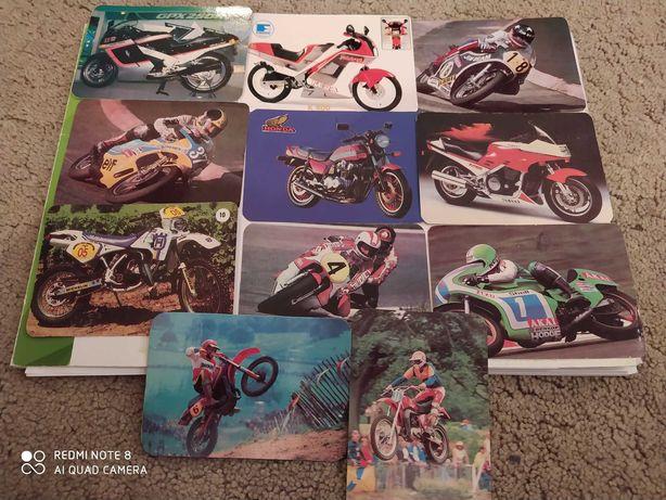 Calendários de motas 1988, 1990, 1993