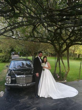 Carro para Casamento Clássico: Mercedes W115 EU Eventos