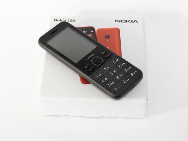 Nokia 150 model z roku 2020 TA-1235 dual sim czarny