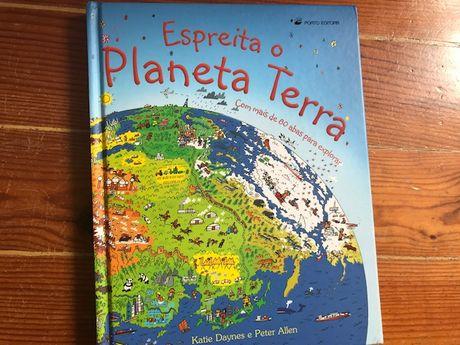 Livro Espreita o Planeta Terra - Porto Editora