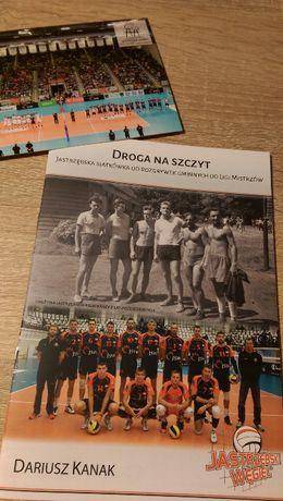 Książeczka Droga na szczyt klubu Jastrzębski Węgiel+klubowa pocztówka