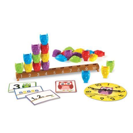 """Игровой набор """"Веселые совята"""", Learning Resources, LER7732"""