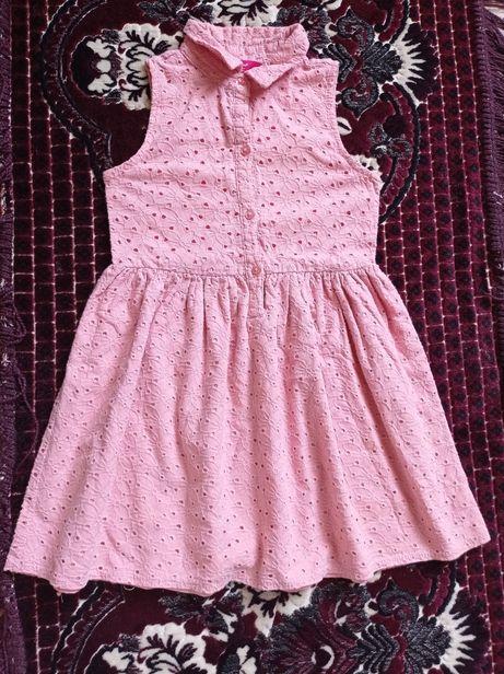 Супер цена! Young dimension нарядное стильное летнее платье 116/122