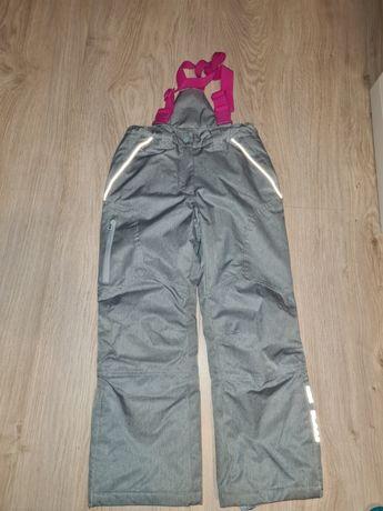 Spodnie ocieplane snowboardowe narciarskie Cocodrillo 128 jak nowe