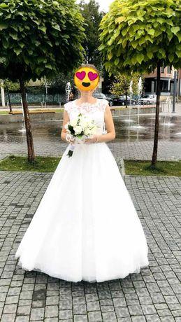 Вишукане весільне плаття.