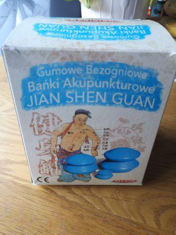 Gumowe banki akupunkturowe 4 szt.