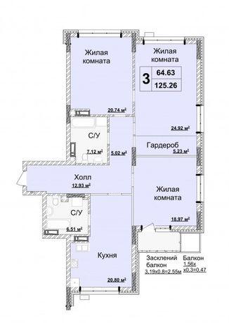 Без комиссии, Драгомирова 15 б, 125 м, сданный дом