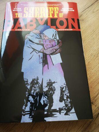 Komiks The Sheriff of Babylon, Tom King (ang.)