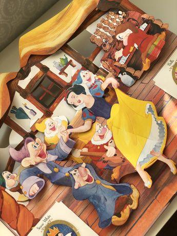 Disney princess a magical pop-up world , книга панорама ,3D ,Рейнхар