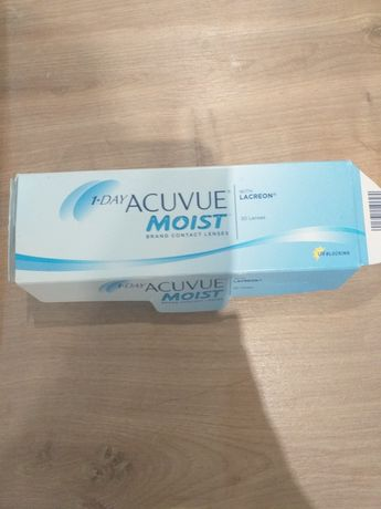Soczewki kontaktowe 1day Acuvue Moist  -3,75