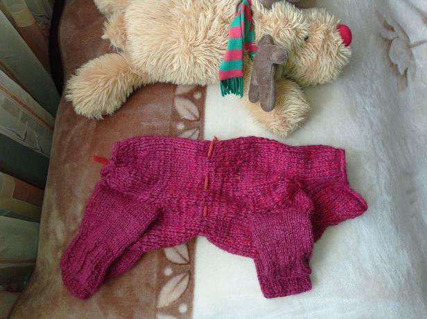 Комбінезон для маленької собачки одежда для йоркширского терьера