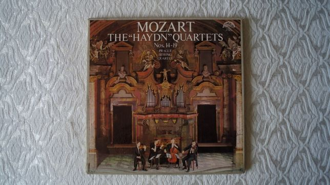 "Mozart The ""Haydn"" Quartets (winyl)"