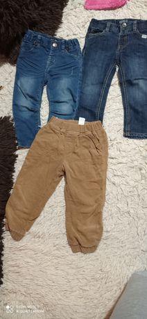Продаються джинси штани на 1,2 роки,86,92 см