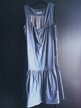 Vestido midi em ganga XL (veste L-XL) C117