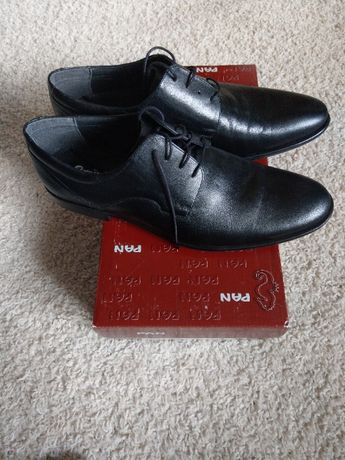 Buty Pantofle Pan 1143 Czarne rozm.43
