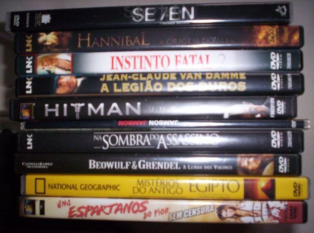 9 dvds filmes