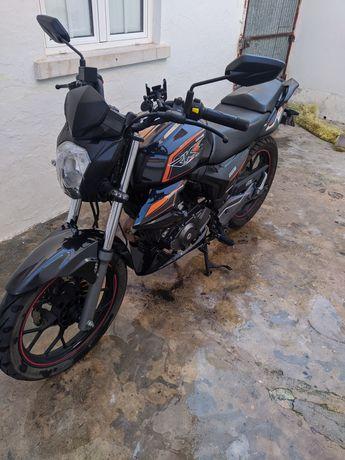 troco Keeway rks sport 125 por moto de cilindrada maior