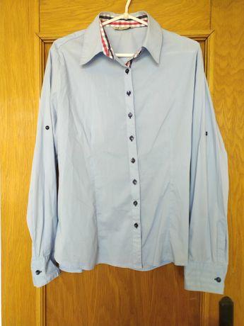 Błękitna koszula xxl