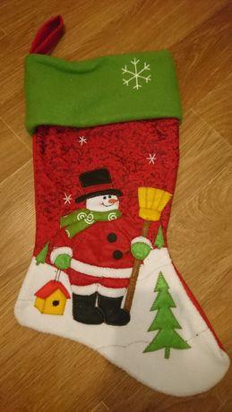 Носок новогодний для подарков