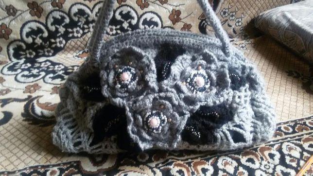 Продам вязаную сумку
