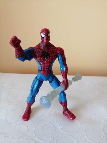 "Marvel 'SPIDER-MAN' Web Battlers 6 ""HASBRO Figure z Spinning Staff"