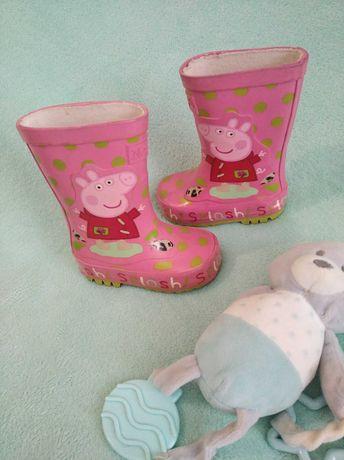 Buty kalosze next różowe świnka Peppa w rozm 3 na dziewczynkę