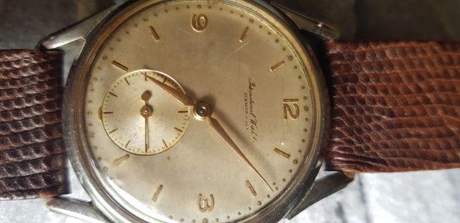 Relógio pulso homem corda International Watch Company IWC anos 50