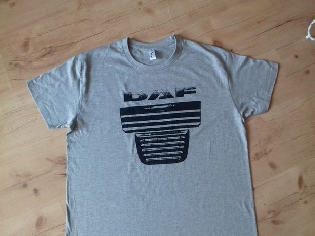 Koszulka szara T-Shirt DAF XF 105