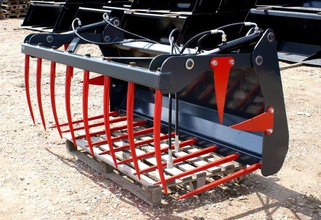 TRANSPORT Krokodyl na ciągnik ładowacz czołowy tur łyżko-krokodyl