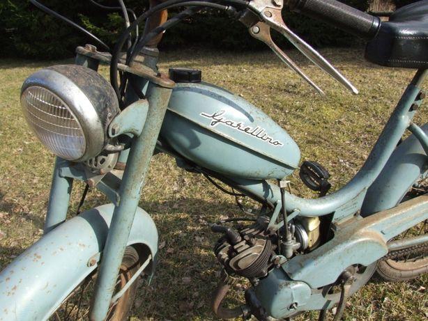 Garelli Rower z Silnikiem na pedały Komar