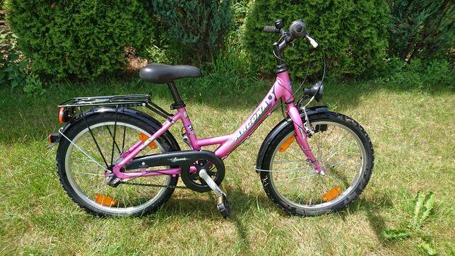 """Rower dziecięcy arcona 20"""" Nexus 3 biegi"""