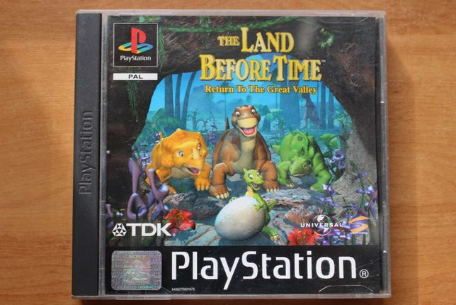 Gra The Land Before Time Unikat ps1,psx,ps one