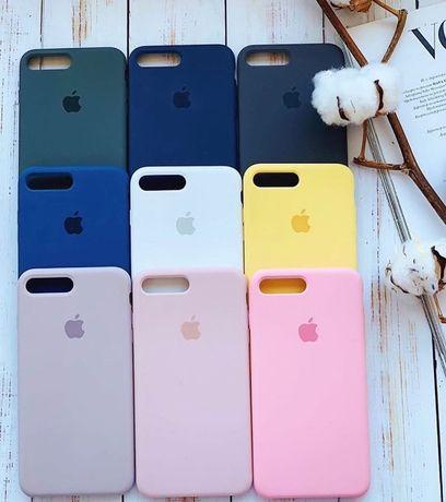 Чехол Silicone Case iPhone 6s...•Apple x на Айфон Силикон Чохол # 7 8