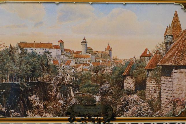 Obraz Zamek Cesarski W Norymberdze Retro Vintage