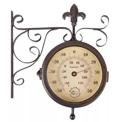 Relógios estação meteorológica c/ termómetro  dupla face