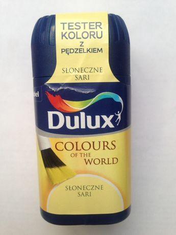 Краска тестер Dulux с кисточкой. Польша