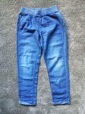 Cienkie spodnie z gumką w pasie Tape A L'oeil 116