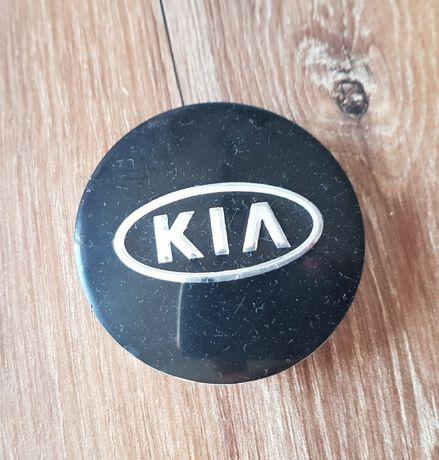 Zaślepki - dekielki do felg KIA 58mm czarne
